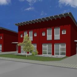 Doppelhaus neues Dach